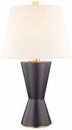 Hudson Valley L1040-MB Ashland Matte Black Small Table Top Lamp