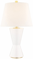 Hudson Valley L1040-MW Ashland Matte White Small Side Table Lamp