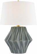 Hudson Valley L1041-DKGY Bertram Dark Gray Table Lamp