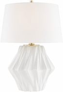 Hudson Valley L1041-WH Bertram White Table Light