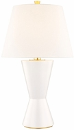 Hudson Valley L1042-MW Ashland Matte White Large Lighting Table Lamp