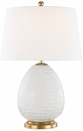 Hudson Valley L1044-BLN Keita Blanche Table Lamp Lighting