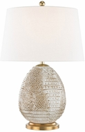 Hudson Valley L1044-TAB Keita Tabac Side Table Lamp