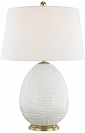Hudson Valley L1046-BLN Keita Blanche Table Lamp