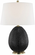 Hudson Valley L1046-EB Keita Ebony Table Light