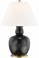 Hudson Valley L1048-IBLK Tang Imperial Black Side Table Lamp