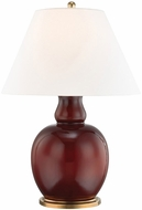 Hudson Valley L1048-IOBR Tang Imperial Ox Blood Red Table Light