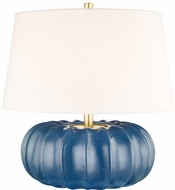 Hudson Valley L1049-SBL Bowdoin Slate Blue Large Lighting Table Lamp