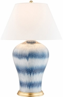 Hudson Valley L1065-BW Plutarch Blue Wash Table Lamp Lighting