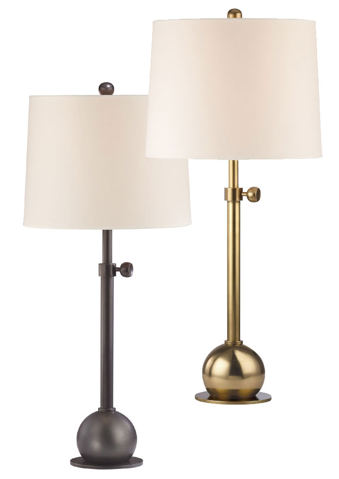 Hudson Valley L114 Marshall 28 Inch Tall Adjule Height Modern Table Lamp Hud