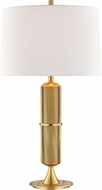 Hudson Valley L1187-AGB Tompkins Contemporary Aged Brass Table Lamp