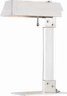 Hudson Valley L1256-PN Hunts Point Contemporary Polished Nickel Reading Lamp