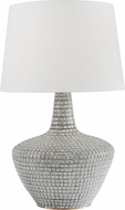 Hudson Valley L1357-GRY Truxton Gray Side Table Lamp