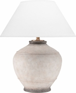 Hudson Valley L1373-ASH Malta Ash Lighting Table Lamp