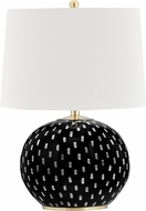 Hudson Valley L1381-AGB Mastic Aged Brass Table Top Lamp