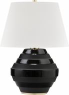 Hudson Valley L1382-AGB-BK Calverton Aged Brass / Black Table Light