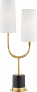 Hudson Valley L1403-AGB Vesper Aged Brass Side Table Lamp