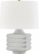 Hudson Valley L1420-GRY Sag Harbor Contemporary Gray Table Top Lamp