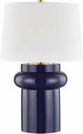 Hudson Valley L1447-CO Manorville Cobalt Table Top Lamp