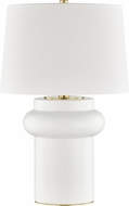 Hudson Valley L1447-IV Manorville Ivory Side Table Lamp