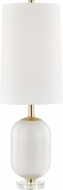 Hudson Valley L1449-IV Mill Neck Ivory Table Lamp