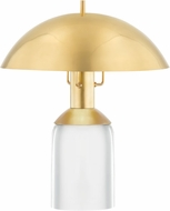 Hudson Valley L1512-AGB Bayside Contemporary Aged Brass LED Accent Table Lamp Lighting