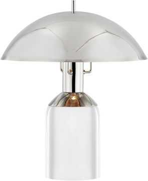 Hudson Valley L1512-PN Bayside Contemporary Polished Nickel LED Accent Table Top Lamp