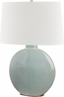 Hudson Valley L1840-AGB-GRY Kimball Aged Brass / Gray Table Lamp