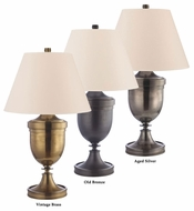 Hudson Valley L398 Rhinecliff Full Range Dimming Large 33 Inch Tall Traditional Table Lamp