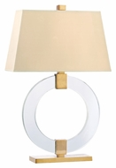 Hudson Valley L608 Roslyn Large 29 Inch Tall Glass French Wired Table Light