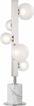 Hudson Valley L805-PN Mini Hinsdale Contemporary Polished Nickel LED Table Lighting
