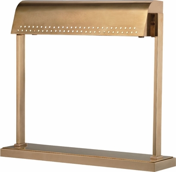 Hudson Valley L811-AGB Garfield Contemporary Aged Brass LED Craft Lamp