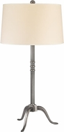 Hudson Valley L814-AS Burton Aged Silver Lighting Table Lamp