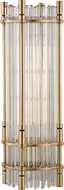 Hudson Valley L961-AGB Grant Contemporary Aged Brass Table Top Lamp