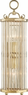 Hudson Valley MDS200-AGB Glass No.1 Aged Brass Lighting Wall Sconce