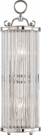 Hudson Valley MDS200-PN Glass No.1 Polished Nickel Wall Lighting Sconce