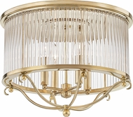 Hudson Valley MDS201-AGB Glass No.1 Aged Brass Ceiling Lighting