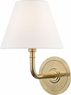 Hudson Valley MDS600-AGB Signature No.1 Aged Brass Wall Lamp