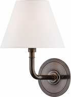 Hudson Valley MDS600-DB Signature No.1 Distressed Bronze Wall Lighting