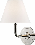 Hudson Valley MDS600-PN Signature No.1 Polished Nickel Sconce Lighting