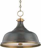 Hudson Valley MDS900-ADB Metal No.1 Contemporary Antique Distressed Bronze Drop Lighting