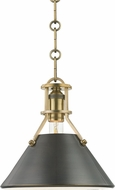 Hudson Valley MDS951-ADB Metal No.2 Modern Antique Distressed Bronze Mini Drop Ceiling Lighting