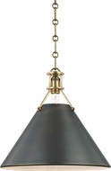 Hudson Valley MDS952-ADB Metal No.2 Modern Antique Distressed Bronze Ceiling Pendant Light