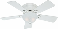 Hunter 51022 Conroy Snow White 42  Ceiling Fan