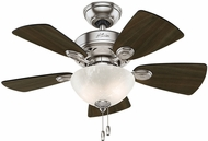 Hunter 52092 Watson Dark Walnut / Cherry 34  Home Ceiling Fan