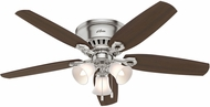 Hunter 53328 Builder Low Profile Brazilian Cherry / Harvest Mahogany 52  Home Ceiling Fan
