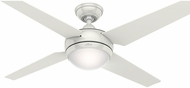 Hunter 59073 Sonic White / Maple Fluorescent 52  Indoor Ceiling Fan