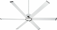 Hunter 59132 HFC-96 Contemporary Fresh White Interior / Exterior 96  Ceiling Fan