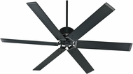 Hunter 59136 HFC-72 Modern Matte Black Indoor / Outdoor 72  Home Ceiling Fan