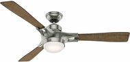 Hunter 59224 Signal Burnt Oak Grain / Reclaimed Walnut LED 54  Indoor Ceiling Fan
